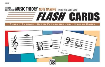 Alfred's Essentials of Music Theory: Note Naming Flash Cards, Flash Cards - Surmani, Andrew