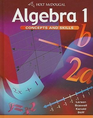 Algebra 1: Concepts and Skills - Larson, Ron, Professor