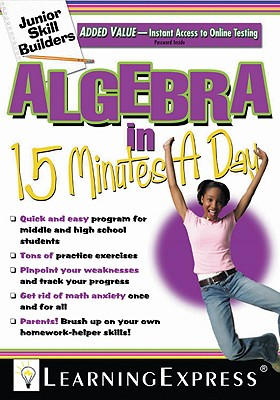 Algebra in 15 Minutes a Day - Learning Express LLC (Creator)