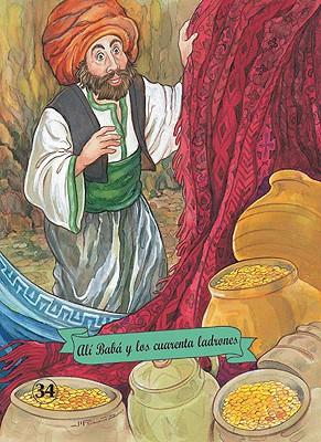 Ali Baba y Los Cuarenta Ladrones - Combel Editorial, and Orihuela, Luz, and Ruiz, Margarita (Illustrator)