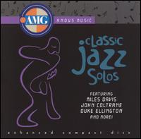 All Music Guide: Classic Jazz Solos - Various Artists