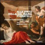 Alla Virtù della Sig. Maria Pignatell: Unpublished italian baroque cantatas