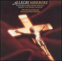 Allegri: Miserere - The Tallis Scholars