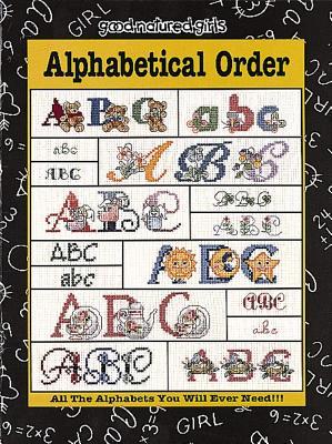 Alphabetical Order (Leisure Arts #24503) - Donna Vermillion Giampa