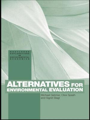 Alternatives for Environmental Valuation - Getzner, M