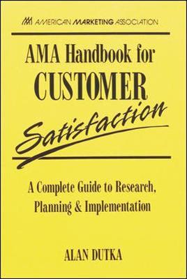 AMA Hb for Customer Satisfaction - Dutka, Alan F