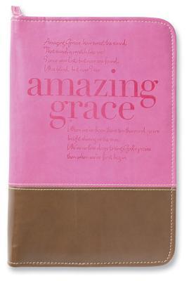 Amazing Grace Italian Duo-Tone Orchid/Chocolate Large - Zondervan Publishing (Creator)