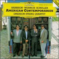 American Contemporaries - David Finckel (cello); Emerson String Quartet; Eugene Drucker (violin); Lawrence Dutton (viola); Philip Setzer (violin)