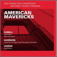American Mavericks - Jeremy Denk (piano); Paul Jacobs (organ); San Francisco Symphony; Michael Tilson Thomas (conductor)
