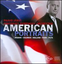 American Portraits - Cincinnati Symphony Orchestra; Paavo J�rvi (conductor)