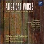 American Voices: Music for Clarinet, Viola and Piano