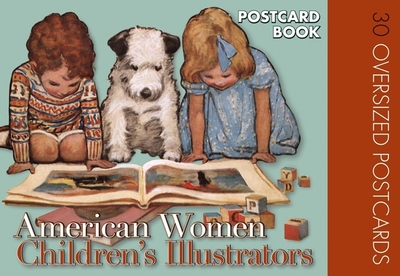 American Women Childrens Illustrators Postcard Book: 30 Oversized Postcards - The Editors of Laughing Elephant Publishing (Compiled by)