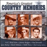 America's Greatest Country Memories - Various Artists