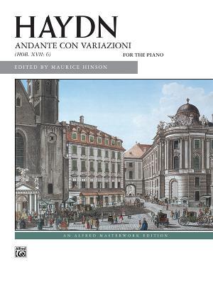 Andante Con Variazioni: Hob. XVII: 6 for the Piano - Haydn, Franz Joseph (Composer)