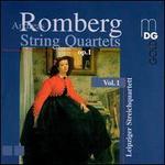 Andreas Romberg: String Quartets, Vol. 1