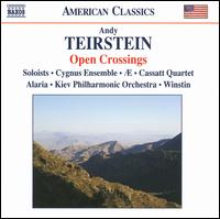 Andy Teirstein: Open Crossings - Alaria Trio; Andy Teirstein (harmonica); Andy Teirstein (banjo); Andy Teirstein (jew's-harp); Andy Teirstein (viola);...