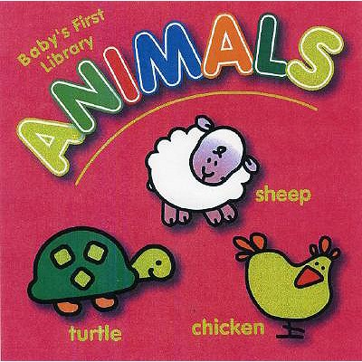 Animals: Mini Baby's First Library - Yoyo Books