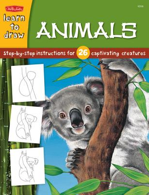 Animals: Step by Step Instructions for 26 Captivating Creatures - Fisher, Diana