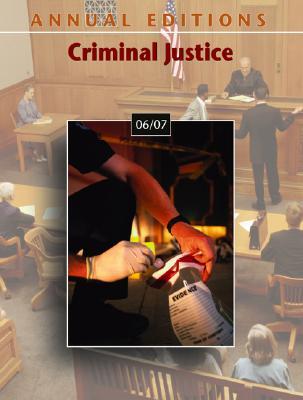 Annual Editions: Criminal Justice - Victor, Joseph L (Editor), and Naughton, Joanne (Editor)