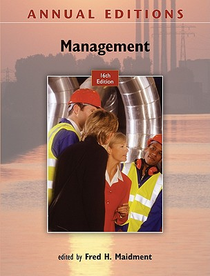 Annual Editions: Management - Maidment, Fred H (Editor)