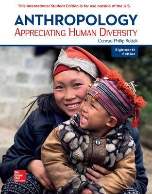 Anthropology: Appreciating Human Diversity - Kottak, Conrad