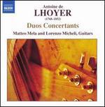 Antoine de Lhoyer: Duos Concertants
