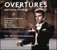 Antonín Dvorák: Overtures - Prague Philharmonia; Jakub Hrusa (conductor)