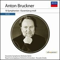 Anton Bruckner: 10 Symphonien; Ouvertüre g-moll -