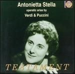 Antonietta Stella sings operatic arias by Verdi & Puccini