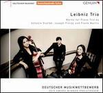 Antonin Dvorák, Joseph Finlay and Frank Martin: Works for Piano Trio