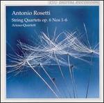 Antonio Rosetti: String Quartets, Op. 6, Nos. 1-6