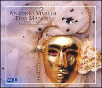 Antonio Vivaldi: Tito Manlio - Bruno Taddia (baritone); Davide Livermore (tenor); Elisabeth Scholl (soprano); Lucia Sciannimanico (mezzo-soprano);...