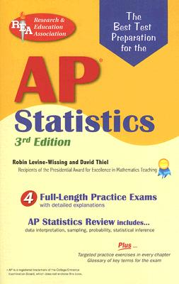 AP Statistics Exam book by Robin Levine-Wissing, David W Thiel | 1