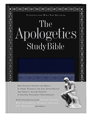 Apologetics Study Bible-HCSB - Cabal, Ted (Editor), and Brand, Chad Owen (Editor), and Clendenen, E Ray, Dr. (Editor)