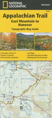 Appalachian Trail, East Mountain to Hanover [vermont] - National Geographic Maps - Trails Illustrated