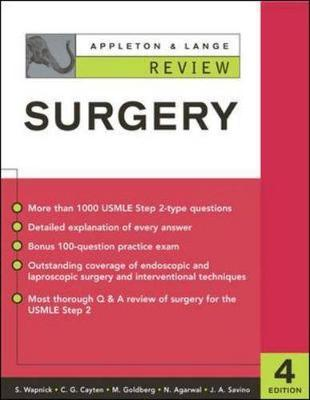Appleton and Lange Review of Surgery - Wapnick, Simon