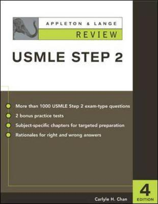 Appleton & Lange Review for the USMLE Step 2 - Chan, Carlyle, M.D., FAPA