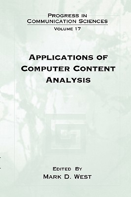 Applications of Computer Content Analysis - West, Mark D