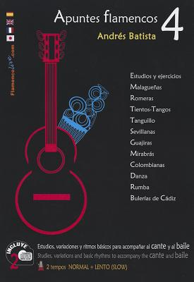 Apuntes Flamencos, Vol. 4 Book/2-CD Set - Batista, Andres
