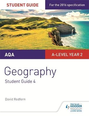 AQA A-level Geography Student Guide 4: Geographical Skills and Fieldwork - Redfern, David