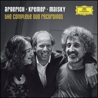 Argerich, Kremer & Maisky: The Complete Duo Recordings - Gidon Kremer (violin); Martha Argerich (piano); Mischa Maisky (cello); Orpheus Chamber Orchestra