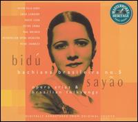 Arias & Brazilian Folksongs - Bidu Sayão (soprano); Ensemble of Eight Violoncellos and Double Bass; Leonard Rose (cello); Milne Charnley (piano)