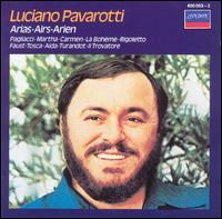 Arias - Luciano Pavarotti (vocals); Wiener Philharmoniker; John Alldis Choir (choir, chorus)