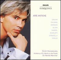 Arie Antiche - Dmitri Hvorostovsky (baritone); Elizabeth Kenny (theorbo); John Constable (harpsichord); John Constable (organ);...