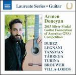 Armen Doneyan: 2015 Silver Medal Guitar Foundation of America (GFA) Competition