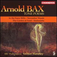 Arnold Bax: Tone Poems - BBC Philharmonic Orchestra; Vernon Handley (conductor)
