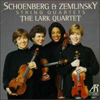 Arnold Schoenberg/Alexander Zemlinsky: String Quartets - Anna Kruger (viola); Astrid Schween (cello); Eva Gruesser (violin); Jennifer Orchard (violin)