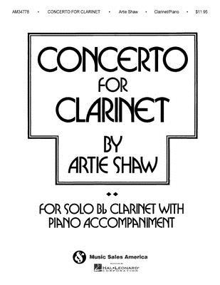 Artie Shaw - Concerto for Clarinet - Shaw, Artie (Composer)