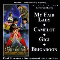Aspects of My Fair Lady/Camelot/Gigi/Brigadoon - Paul Freeman