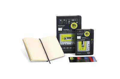 Audio Cassette Plain Pocket Notebook: Black/Green - Moleskine (Creator)